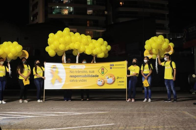 Governo do Estado realiza abertura do Maio Amarelo, com foco na prevenção de acidentes com motocicletas