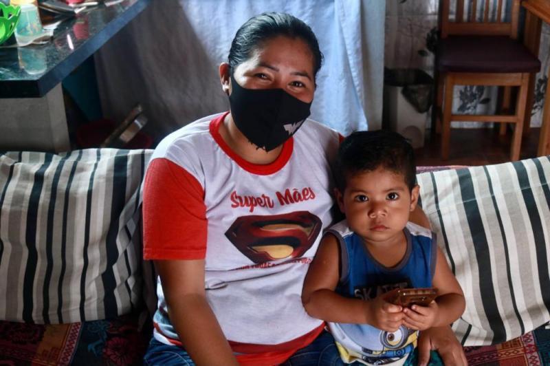 Mães de crianças com deficiência contam com apoio do Governo do Amazonas no desenvolvimento dos filhos