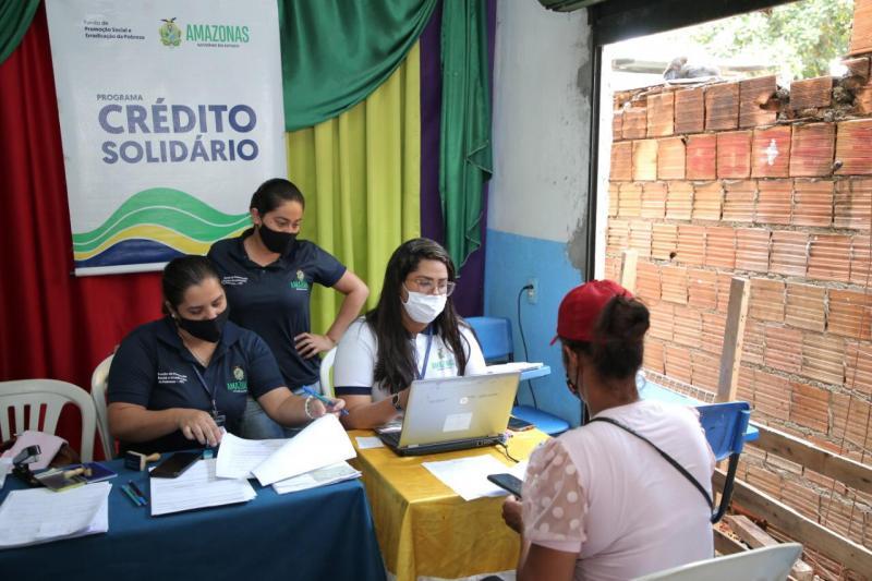 Governo do Amazonas promove atendimento do Crédito Solidário nos municípios de Itamarati e Pauini