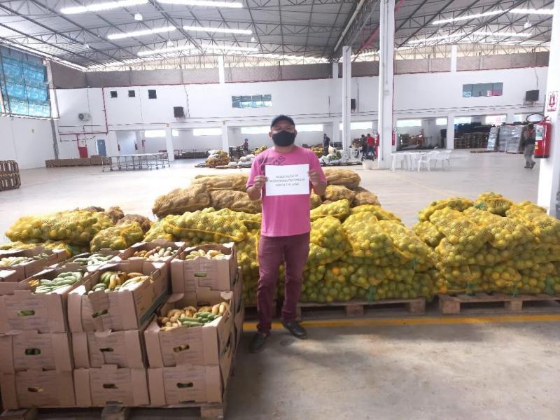 Governo do Amazonas distribui 50 toneladas de alimentos e beneficia 3.500 famílias por meio da Seas e ADS