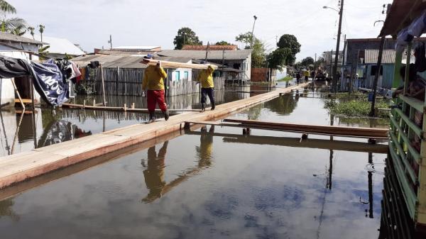 Prefeitura de Parintins construiu mais de 5 mil metros de pontes na cidade