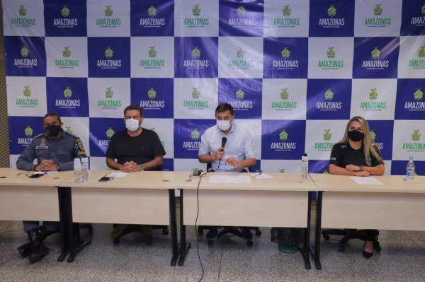 Em reforço às ações policiais do Estado, governador Wilson Lima pede apoio da Força Nacional de Segurança