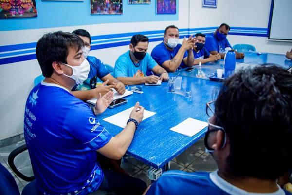 Caprichoso convoca todos os artistas azulados para a apresentação no Bumbódromo