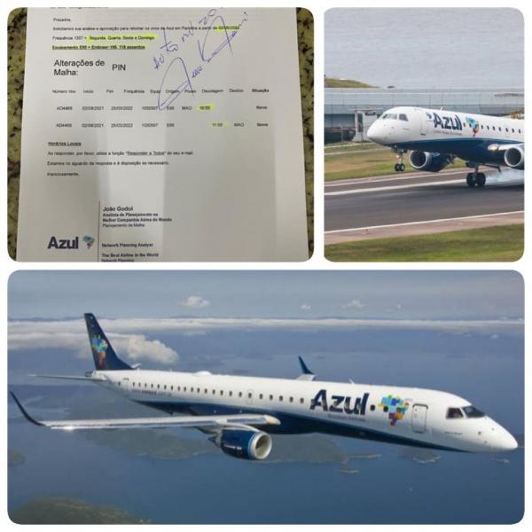 Azul Linhas Aéreas volta a operar em Parintins dia 2 de agosto