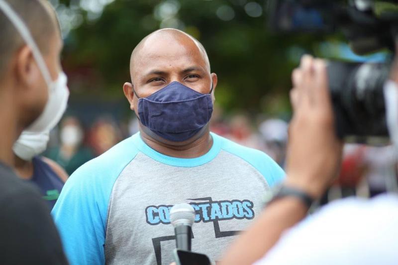 Moradores da zona norte dizem sim à vacina no Centro de Convivência da Família Padre Pedro Vignola