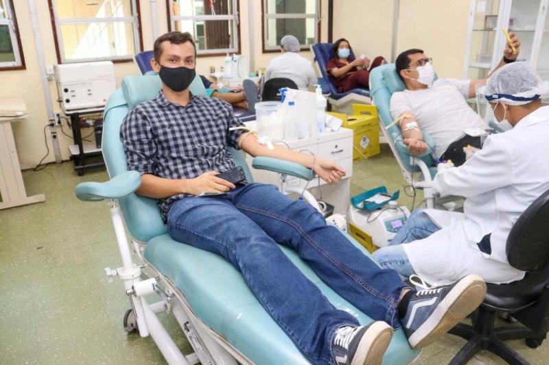 Servidores da FEI mobilizados para campanha de doação de sangue Junho Vermelho