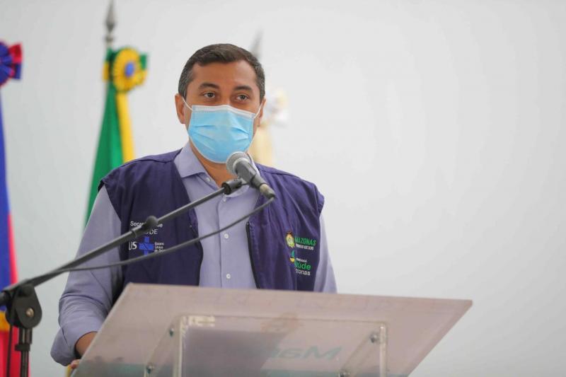 Wilson Lima anuncia novo mutirão de vacinação contra a Covid-19 e chegada de mais doses nesta semana