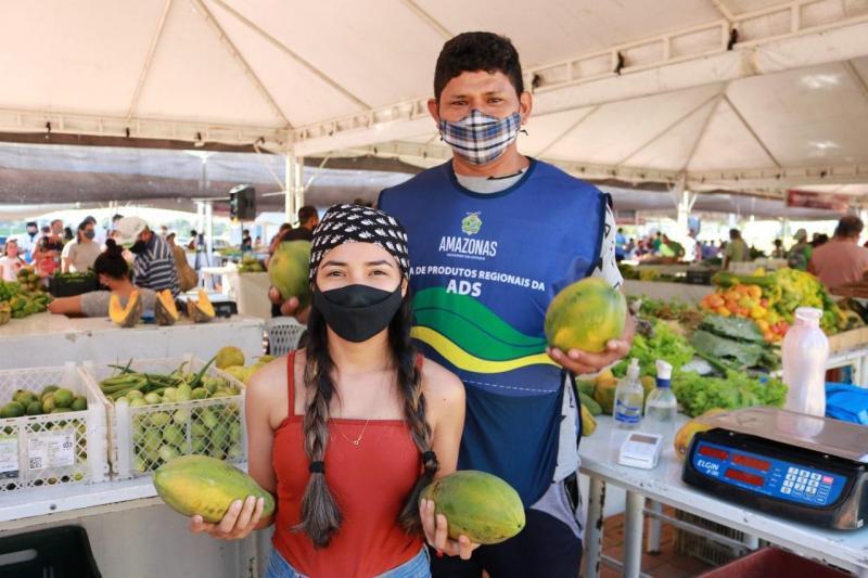 ADS vai inaugurar Feiras de Produtos Regionais nas zonas centro-oeste e centro-sul de Manaus