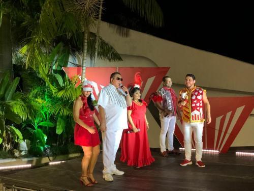 'Quarteto Fantástico' da show em live do boi Garantido