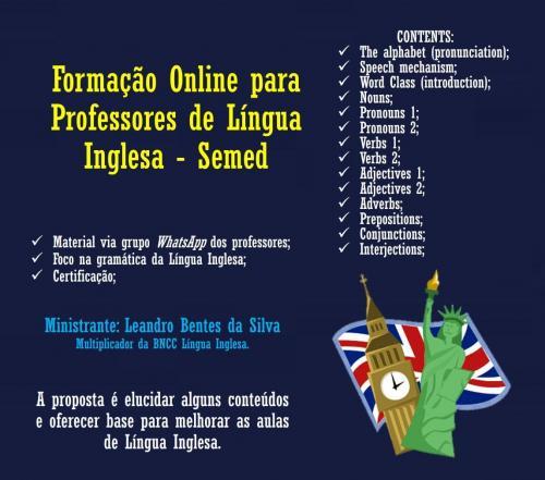 Secretaria de Educação de Parintins promove curso de aperfeiçoamento a professores de Língua Inglesa