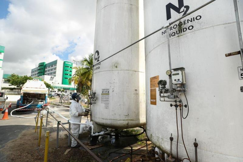 White Martins nunca alertou Governo do Amazonas sobre possibilidade de desabastecimento de oxigênio