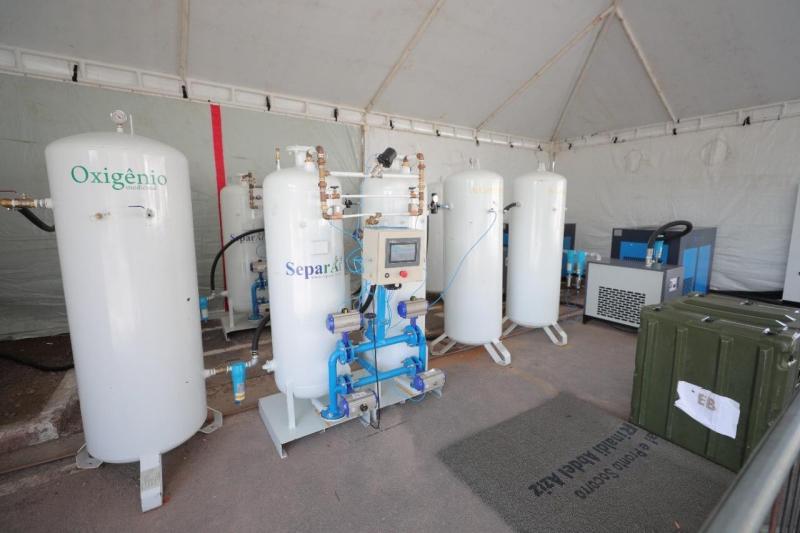 Governo do Amazonas já comprou cinco usinas de oxigênio e capacidade de produção do Estado dobrou em cinco meses