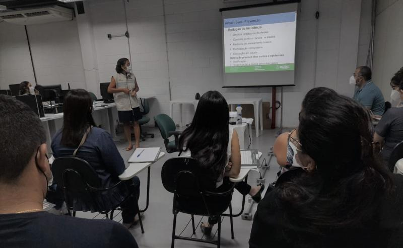 Capacitação nivela novos colaboradores da FVS-AM para enfrentamento à pandemia no interior