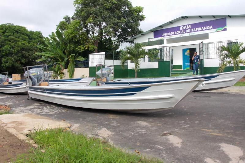 Governo do Amazonas incentiva atividade de pesca de Itapiranga com mais de R$ 190 mil em investimentos
