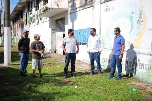 Mateus Assayag acompanha equipes do Estado e Prefeitura que farão ações em Parintins