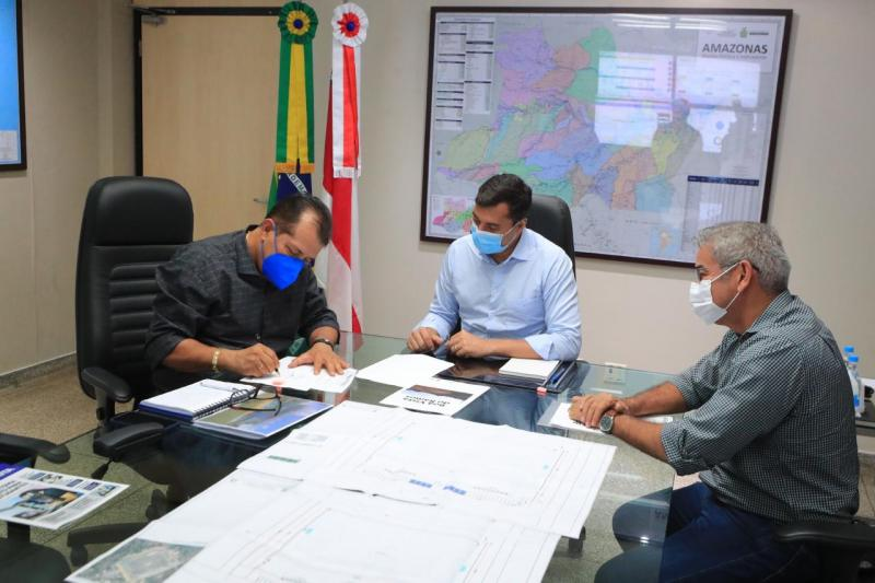 Wilson Lima anuncia investimentos para infraestrutura de Boa Vista do Ramos