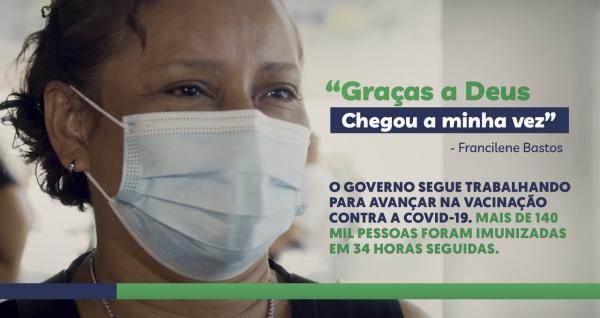 Manaus disse sim à vacina