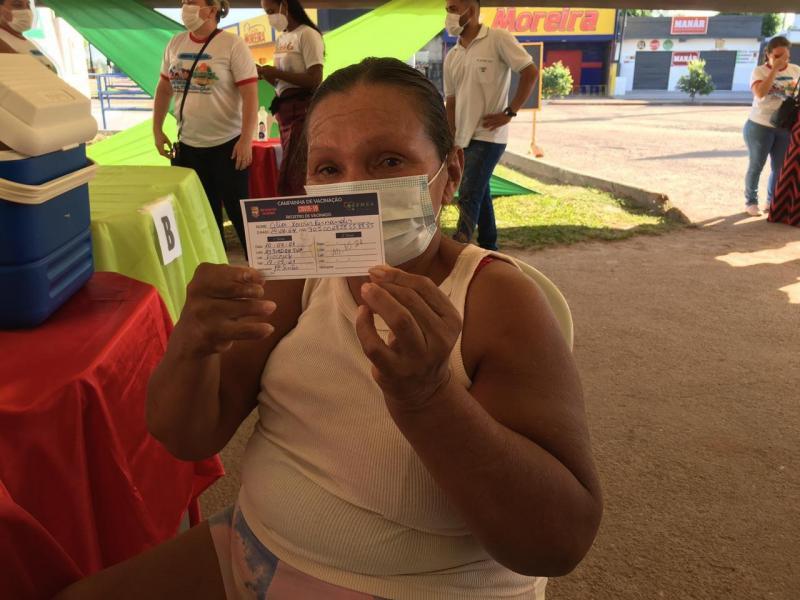 Mutirão Vacina Amazonas inicia em São Sebastião do Uatumã