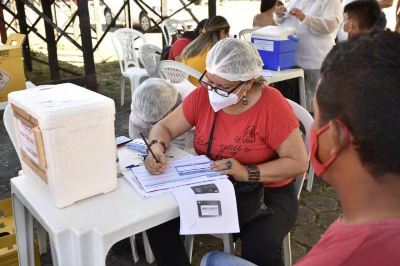 Mutirão de vacinação contra Covid-19 inicia em Urucará