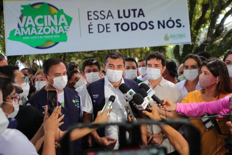 Mais de 20 municípios no Amazonas já vacinam a partir de 18 anos contra a Covid-19