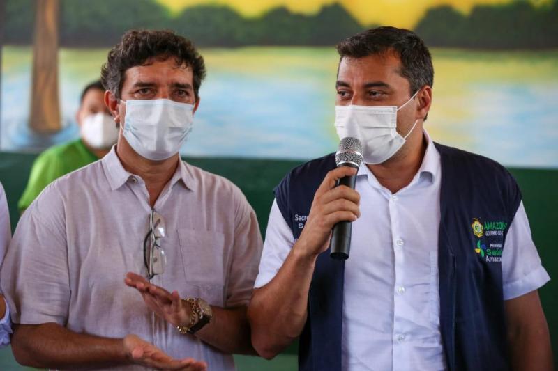 Governador Wilson Lima anuncia recuperação do sistema viário de Itacoatiara, em parceria com a prefeitura