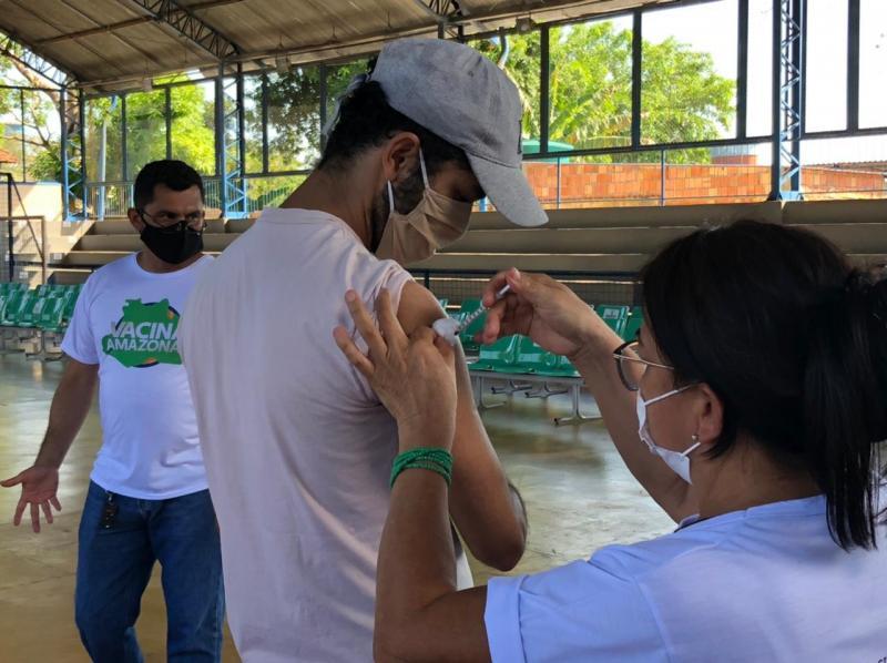 Amazonas já aplicou mais de 2,2 milhões de vacinas contra a COVID-19 até sábado (10/07)