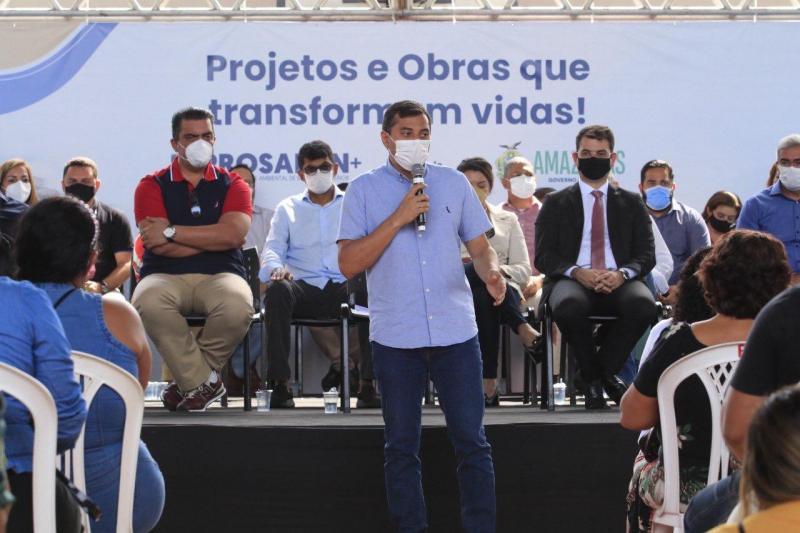 Governador Wilson Lima lança o Prosamin+, com investimentos de R$ 542 milhões em obras