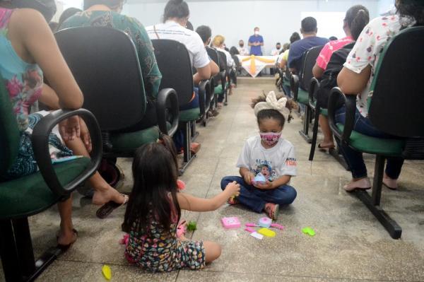 Dia Alusivo ao TDAH é comemorado com palestras e atividades com alunos da Rede Municipal de Ensino de Parintins