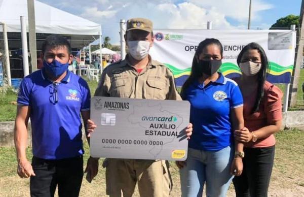 Governo do Amazonas encerra com sucesso entregas do Auxílio Enchente em Nhamundá