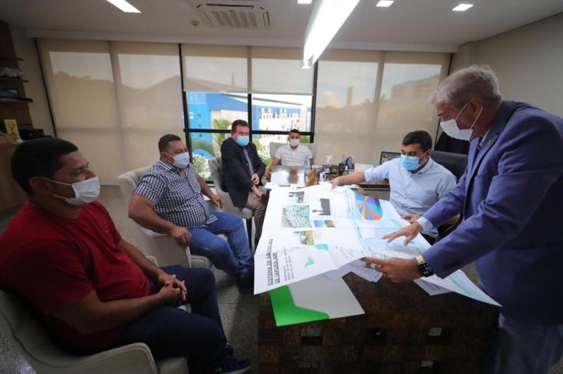Governador Wilson Lima anuncia investimento de R$2,3 milhões para melhorar qualidade do abastecimento de água em Japurá