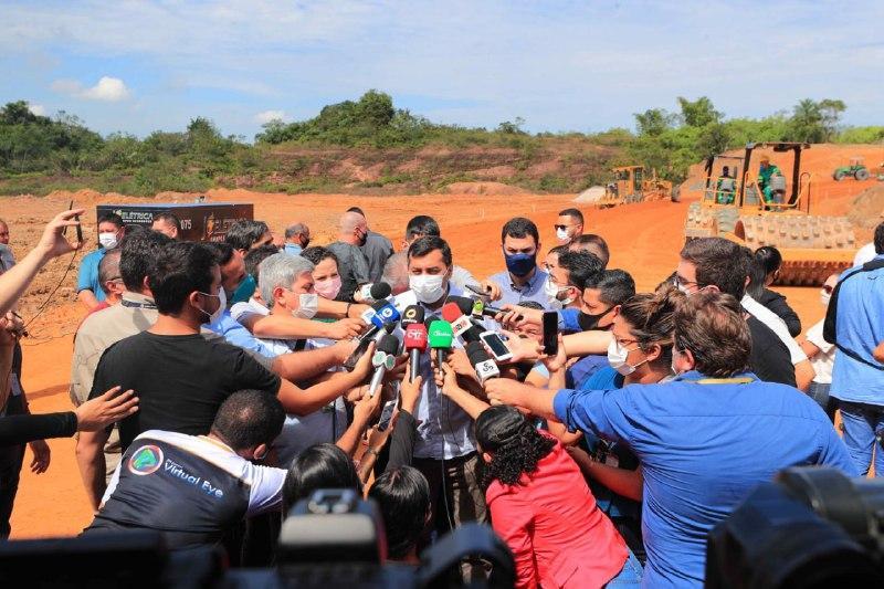 Governador Wilson Lima lança pacote com 70 novas obras e investimento de R$ 1 bilhão
