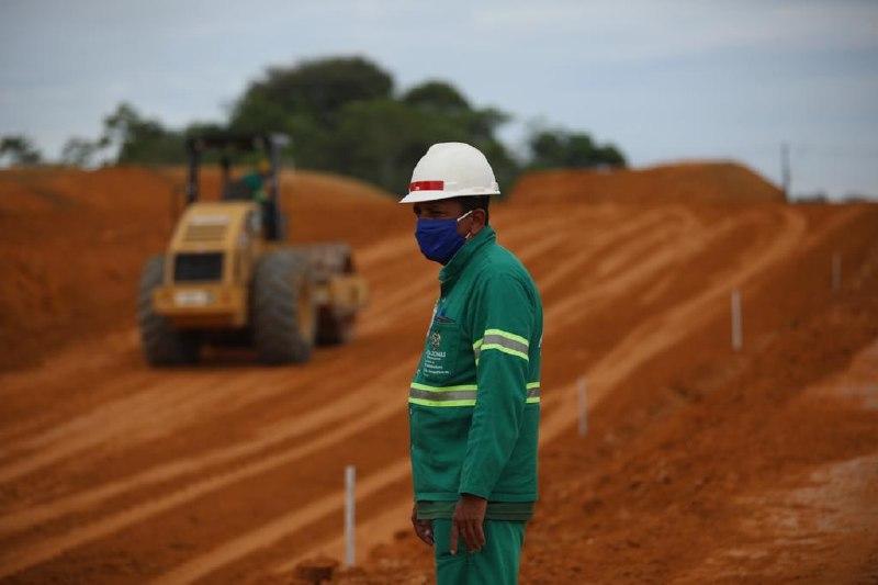 Governo do Amazonas já gerou mais de 600 mil empregos em obras de infraestrutura