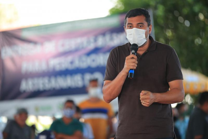 'Vamos entregar a AM-070 até o final deste ano', diz Wilson Lima, em Manacapuru