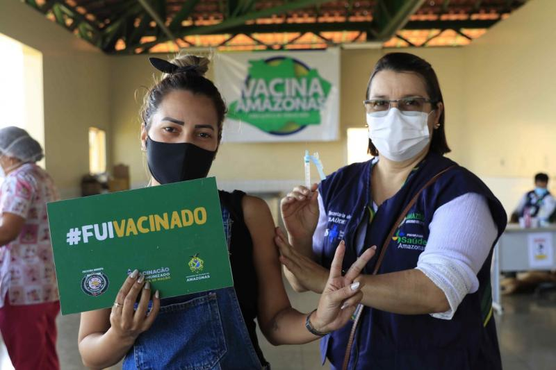 Vacina Amazonas encerra com mais de mil doses aplicadas em Manaquiri, Careiro Castanho e Careiro da Várzea