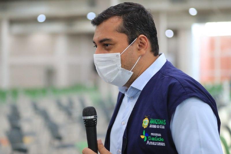 Governador Wilson Lima acompanha início  do 3º mutirão Vacina Amazonas na capital