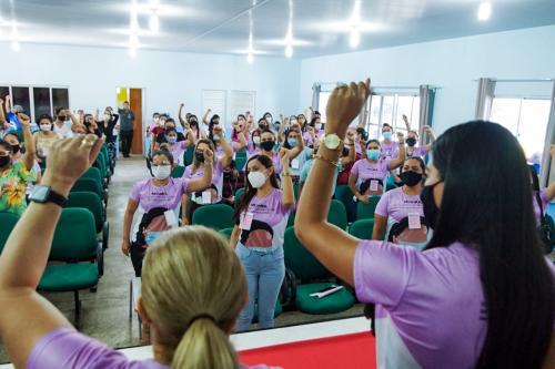 Combater à violência contra a mulher é uma das bandeiras de Mayra Dias