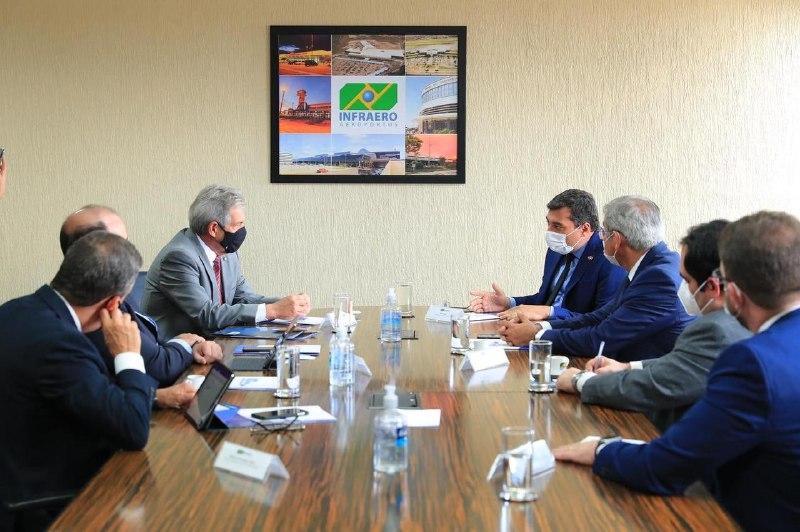 Governador Wilson Lima anuncia parceria com a Infraero para modernização dos aeródromos no interior