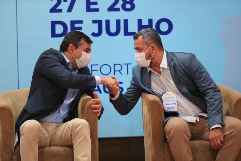 Wilson Lima destaca investimentos do Estado no interior, em congresso de secretários municipais de saúde