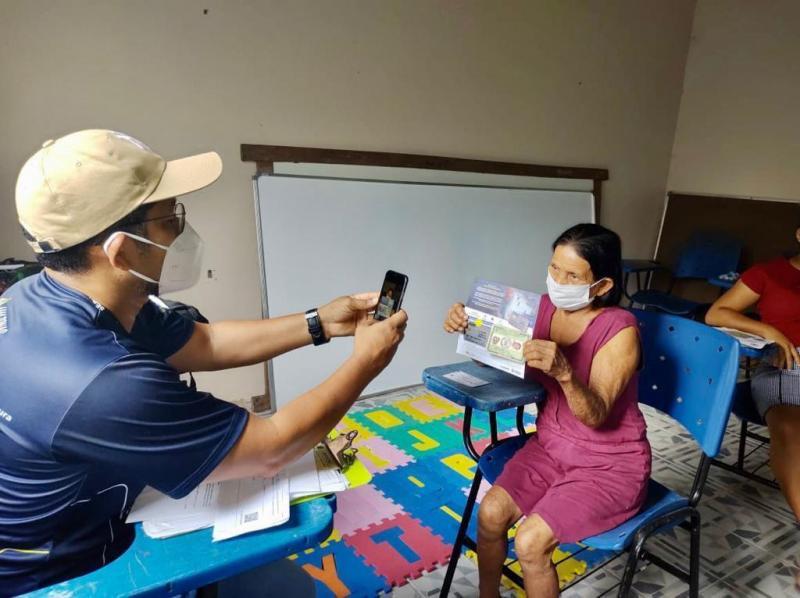 Governo do Amazonas na reta final da operação Auxílio Estadual Enchente em Novo Airão