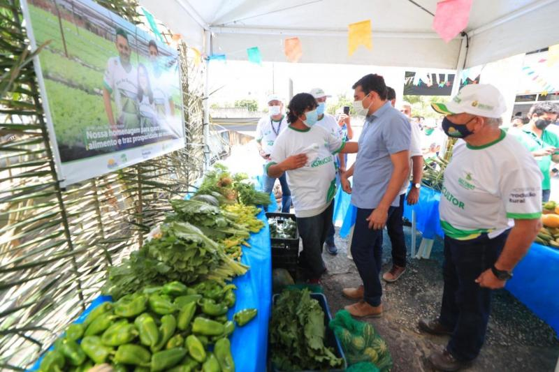 Em homenagem à agricultura familiar, governador Wilson Lima destaca importância do segmento para a economia