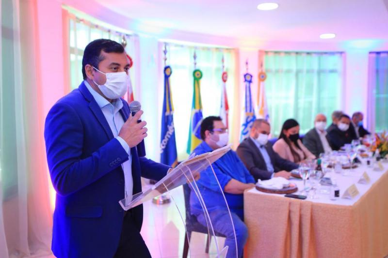 Fecomércio-AM agradece governador Wilson Lima por ações do Estado durante a pandemia de Covid-19