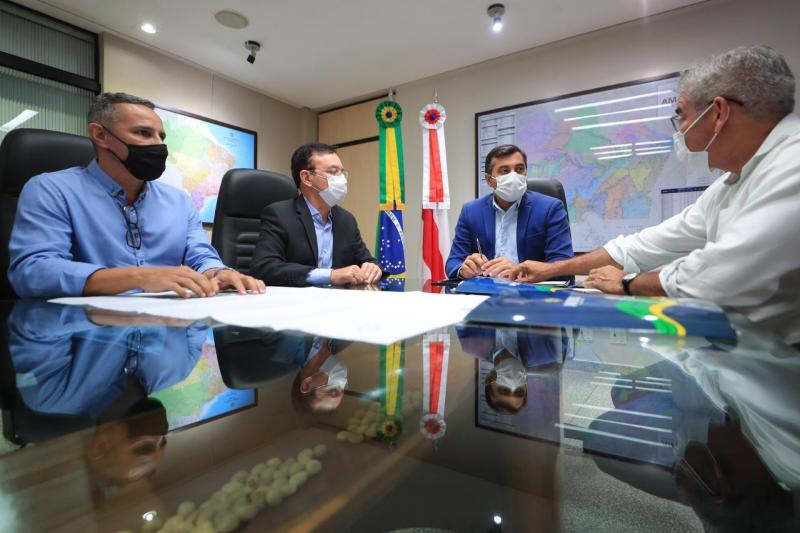 Governador Wilson Lima anuncia recuperação de 23 quilômetros de ruas do município de Humaitá