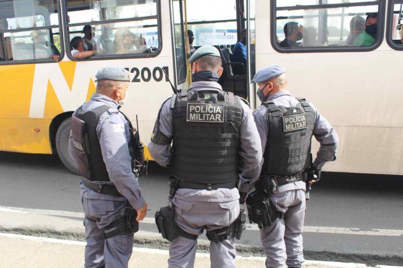 Em Manaus, PM realizou mais de 25 mil abordagens em ônibus do transporte coletivo