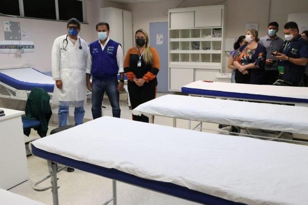 Secretário de Saúde realiza visita técnica em Hospitais e Prontos-Socorros durante feriado em Manaus