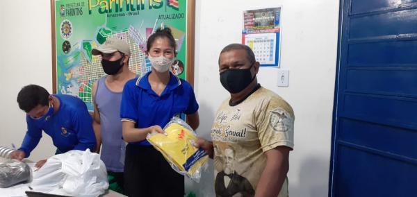 Funcionários do SAAE recebem EPIs para garantir a saúde e segurança no trabalho