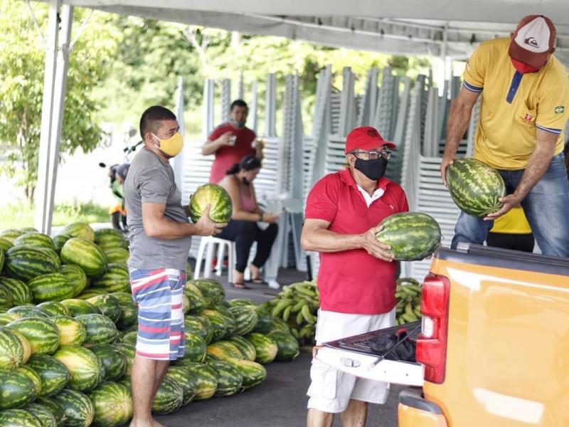 Governo do Estado adquire 16 toneladas de produtos agrícolas, que irão beneficiar 5 mil pessoas em Manaus