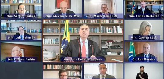 Presidente do TSE critica ameaças à democracia brasileira