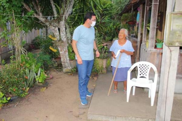 Mateus Assayag cumpre agenda de trabalho nas comunidades rurais Terra Preta e Simeão Socorro