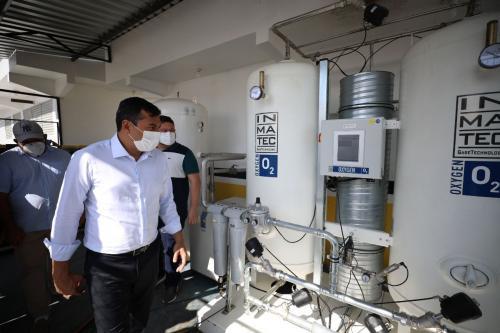 Wilson Lima reforça medidas para a saúde e segurança, em Tefé