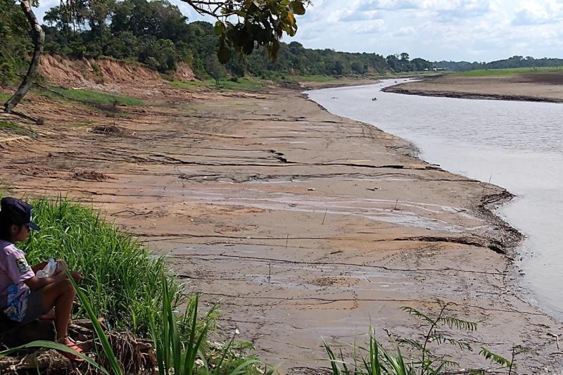 Defesa Civil do Amazonas monitora municípios em decorrência da estiagem
